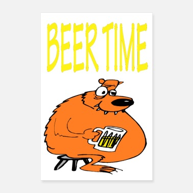 Times BEER TIME - Poster