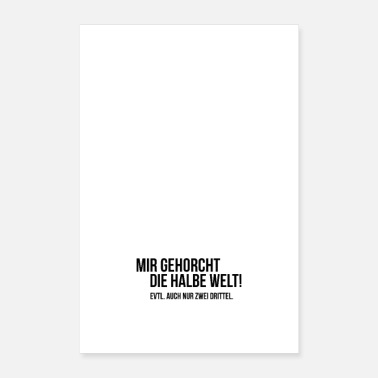Style Halbe Welt - Poster