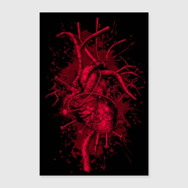 BLOODY HEART - Poster 24 x 35 (60x90 cm)