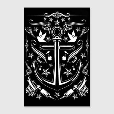 Nautik poster 24 x 35 60x90 cm