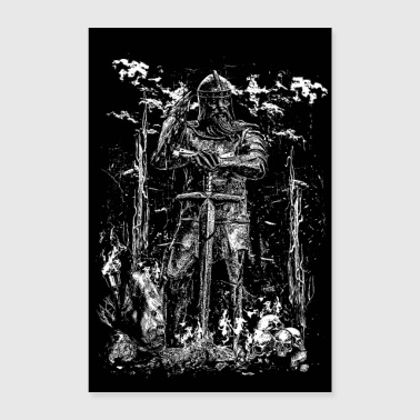 VIKING KING - Poster 24 x 35 (60x90 cm)