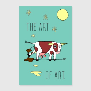 the ART of ART - Poster 60x90 cm