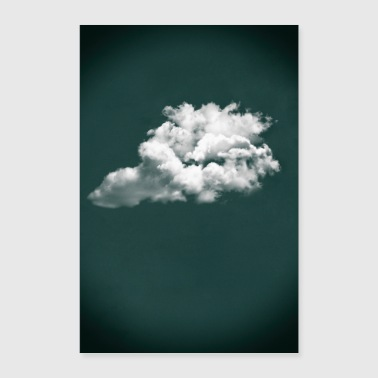 Greenery Cloud - Poster 24 x 35 (60x90 cm)