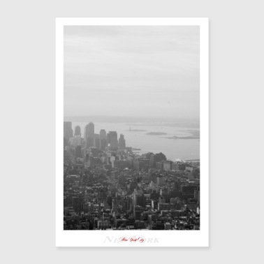 New York City (Affiche) - Poster 60 x 90 cm