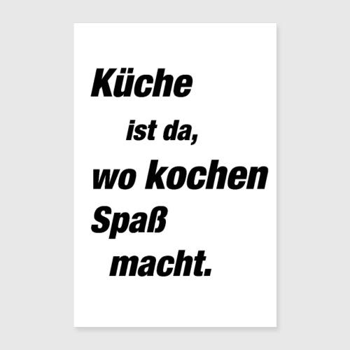 Küche (Poster) von sockenfresser1   Spreadshirt