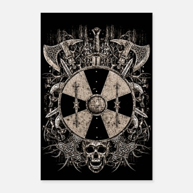 Shield VIKING SHIELD - Poster 24 x 35 (60x90 cm)