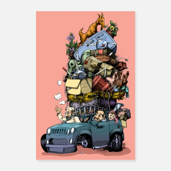 Pech Posters - Holiday Overdrive - Posters wit