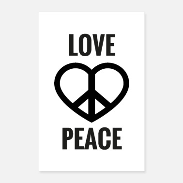 Peace LOVE & PEACE - Poster
