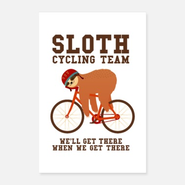 Proverbi Sloth Cycling Team - Poster