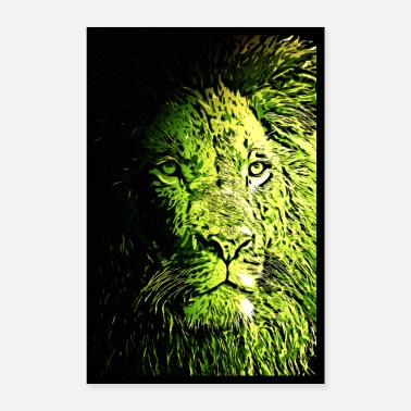 Leeuw Lion Lion Poster - Poster