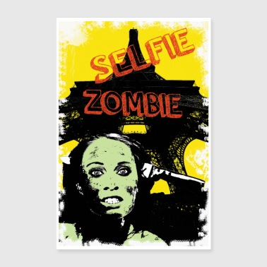 zombie in vacanza - Poster 60x90 cm