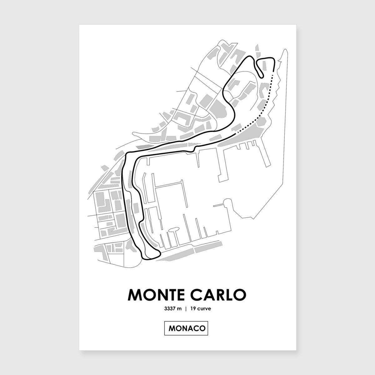 Circuito Monaco : Circuito f monaco di andreanastasio spreadshirt