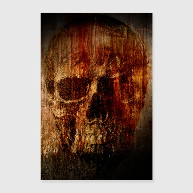 Stylish Blood Skull Poster - Poster 24 x 35 (60x90 cm)