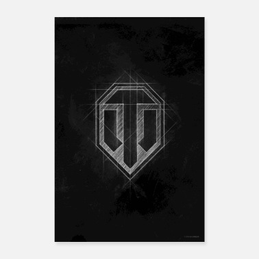 Geek World of Tanks WoT Logo - Poster 60x90 cm