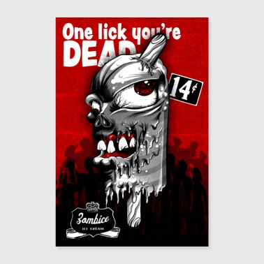 Zombie Ice Cream Movie - Poster 60x90 cm