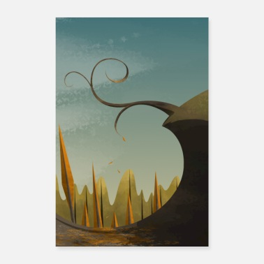 Poster design nature - Poster 60 x 90 cm