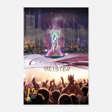 Master 10 master soul poster - Poster 24 x 35 (60x90 cm)