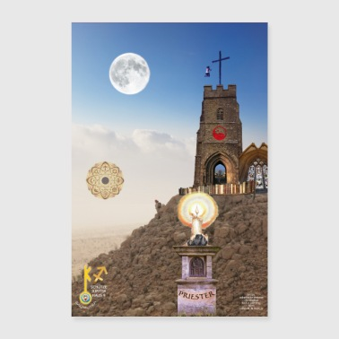 09 Priester Seele Poster - Poster 60x90 cm