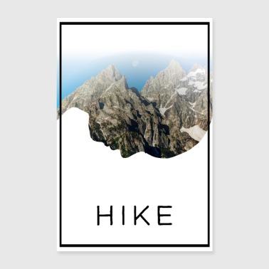 Hike - Poster 24 x 35 (60x90 cm)