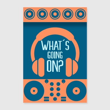 What's up? - Poster 24 x 35 (60x90 cm)