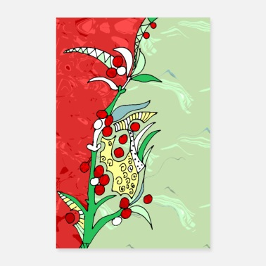 Fruit fruits - Poster 60 x 90 cm