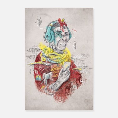 Tradition In Between - Poster 60x90 cm