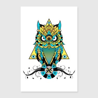 The Owl - Poster 24 x 35 (60x90 cm)