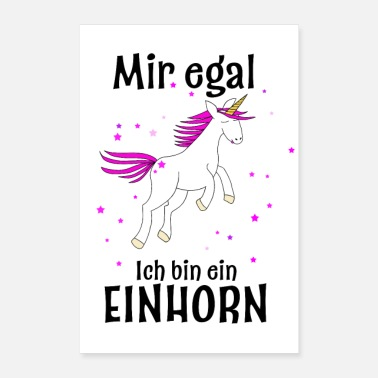 Occasion I am a unicorn - Poster 24 x 35 (60x90 cm)