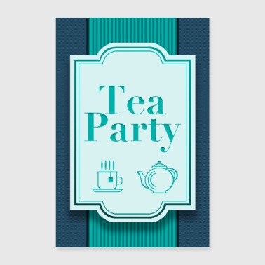 Tea Party - Poster 60x90 cm