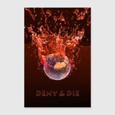 Global Warming Red Edition - Poster 24 x 35 (60x90 cm)