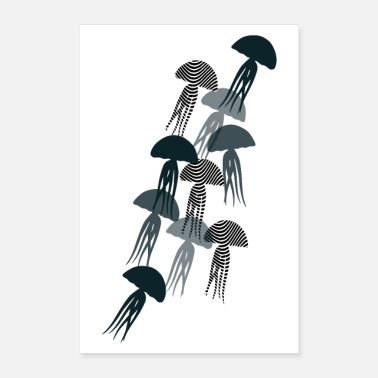 AFFICHES JELLYFISH - Poster