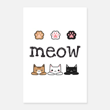 Pelz Meow - Cat Lover - Poster