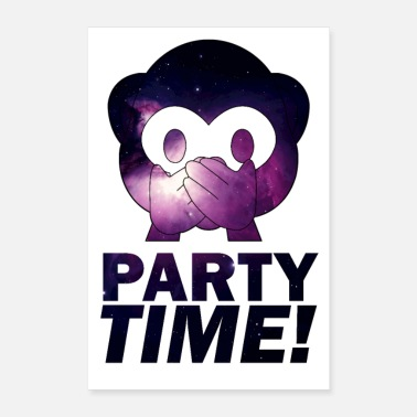 Party PARTY TIME - Poster
