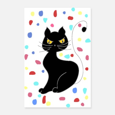 Animal De Compagnie chat - Poster 60 x 90 cm