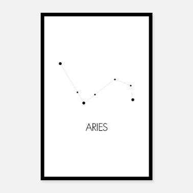 Aries Constellation Aries (Aries) - Poster