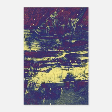 Prachtige Abstracte poster - Poster