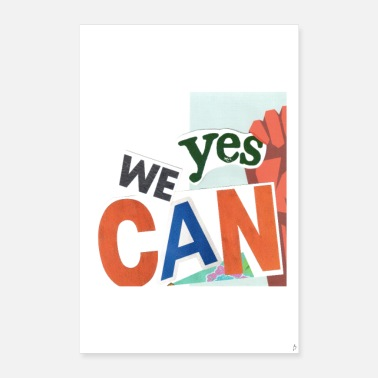 Recycling Yes we can_PilouB.-Poster - Poster