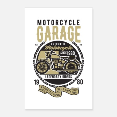 Racing Motorcycle motorcycle - Poster