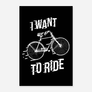 Bicyclette fiets - Poster