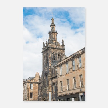 Skottland Augustine United Church Edinburgh Skottland - Poster