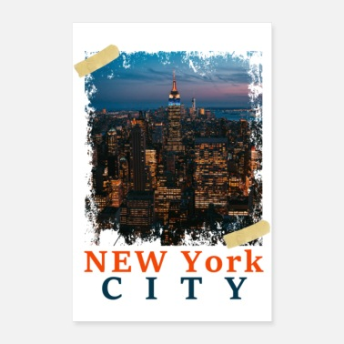 York New York City Poster Gift Idea Birthday Cool - Poster