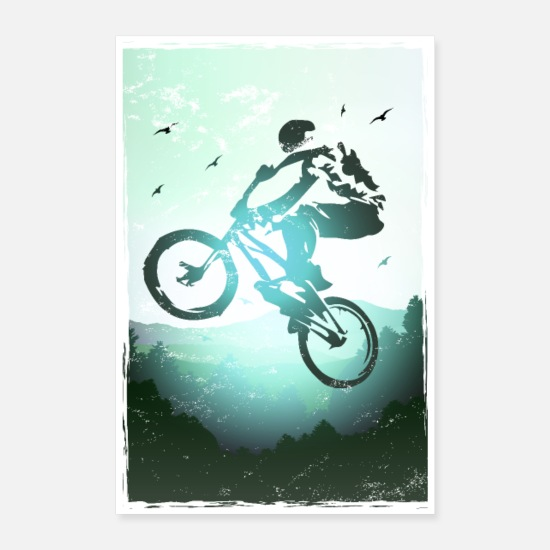 Mountainbike Posters - BMX-poster / Bmx - Posters wit