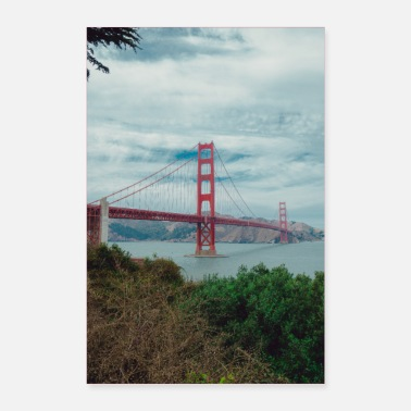Amerika Golden Gate Bridge - Poster