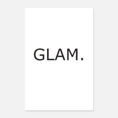 Glamour Glamour - Póster