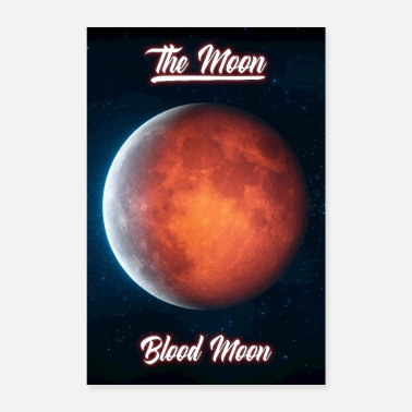 Stars Blood Moon - Poster