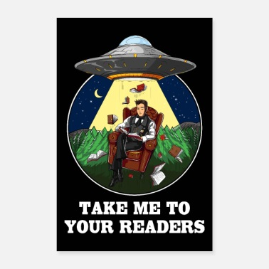 Take Take Me To Your Readers UFO - Poster