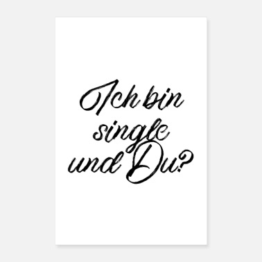 Single Ich bin single und Du? - Poster