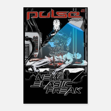 Freak Pulse - New Elastic Freak - Poster - Poster