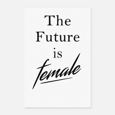 Female Female Future - Poster