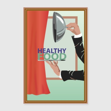 Healthy food - Poster 24 x 35 (60x90 cm)